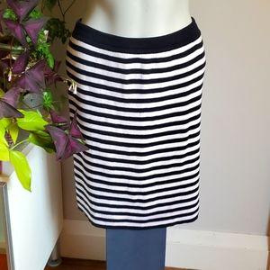 Benetton vtg striped knit skirt, size 8
